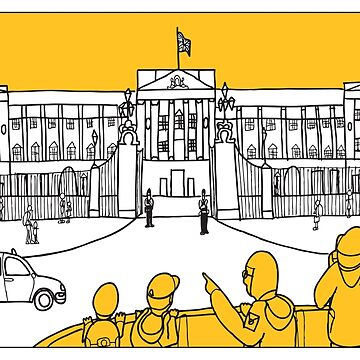 Sketches of London 'Buckingham Palace' by springwoodbooks