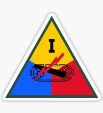 I Armored Corps (United States - Historical) Sticker