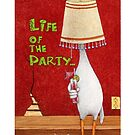 Will Bullas / phone cover / life of the party... / humor / animals by Will Bullas