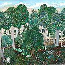 The Deep Woods by JillelaineArt