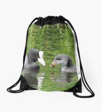 Coot and Cootling Drawstring Bag