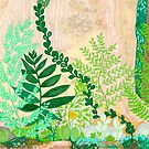 Moss and Ferns forever by JillelaineArt