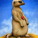 Will Bullas / art print / the lookout... / humor / animals by Will Bullas