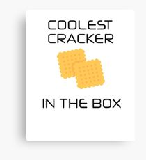 Coolest Cracker In The Box Canvas Print