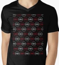 Pokéballs Men's V-Neck T-Shirt