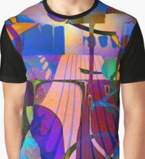 Kiss Kiss Grafik T-Shirt