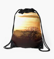 The Lake District: Sunset over Blencathra Drawstring Bag