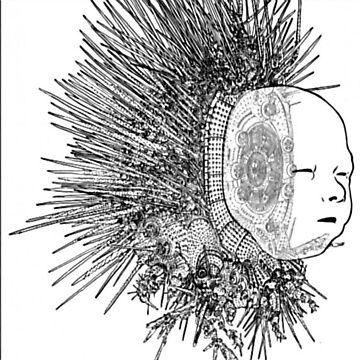 The Matrix head by ross-Gardiner