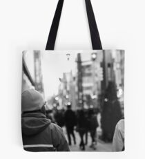 Urban coldness Tote Bag