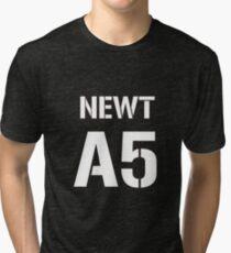 Newt A5 By Lukman Tri-blend T-Shirt