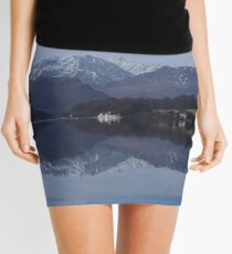 The Lake District: All Calm on Ullswater Mini Skirt