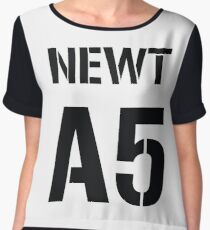 Newt A5 By Ahza Chiffon Top