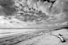 Clouds over Casabianda beach by Patrick Morand