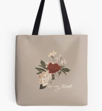 Shawn - In my blood Tote Bag