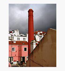 Smoke Stack Photographic Print