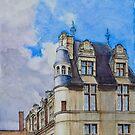 Château d'Écouen, France by Dai Wynn