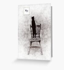 picture purrrrfect  Greeting Card