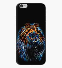 Lightning Neon Collie iPhone Case