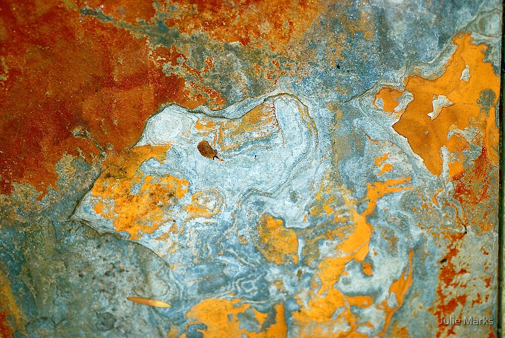 Rock Abstract by Julie Marks