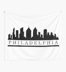 Philadelphia skyline Wall Tapestry