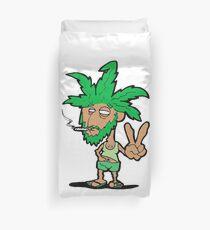 420 weed stoner Duvet Cover