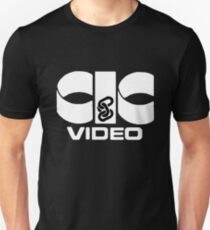 CIC Video VHS logo Unisex T-Shirt