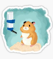 Hamster life Sticker