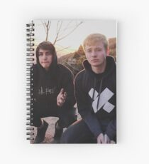 Sam and Colby Spiral Notebook