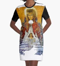 The Realm of the Goblin King Graphic T-Shirt Dress