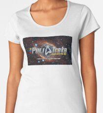 PoliTreks Podcast Artwork Women's Premium T-Shirt