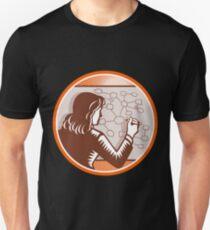 Teacher Writing Mindmap Unisex T-Shirt