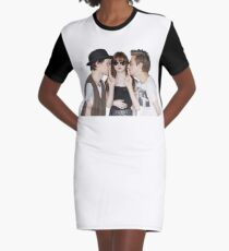 Karen and the Babes Graphic T-Shirt Dress