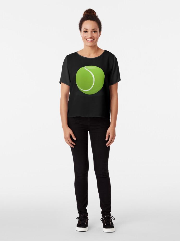 Alternative Ansicht von Tennis Ball Chiffon Top