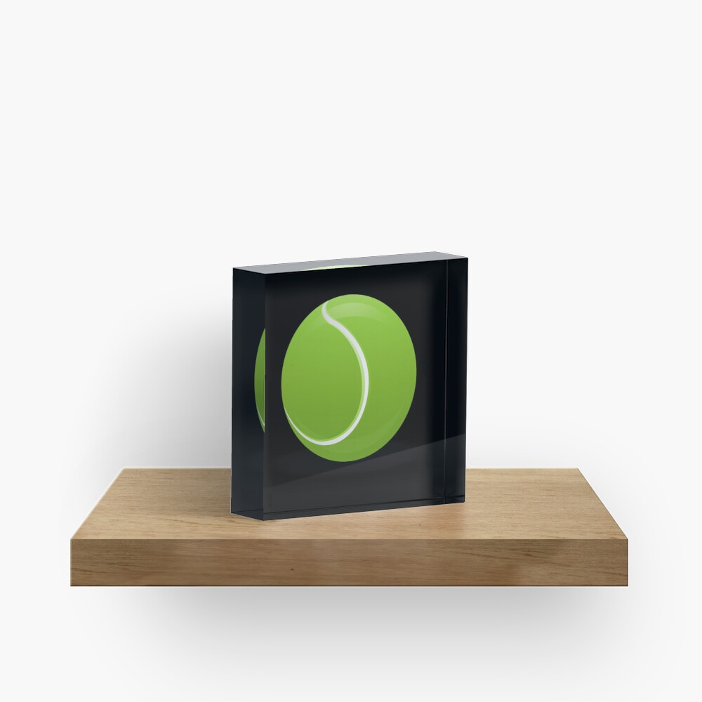Tennis Ball Acrylblock