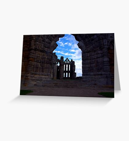 Whitby Abbey #3 Greeting Card