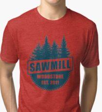 Sawmill 003 Tri-blend T-Shirt