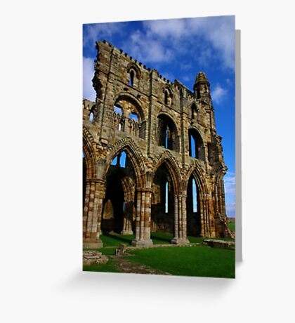 Whitby Abbey #6 Greeting Card