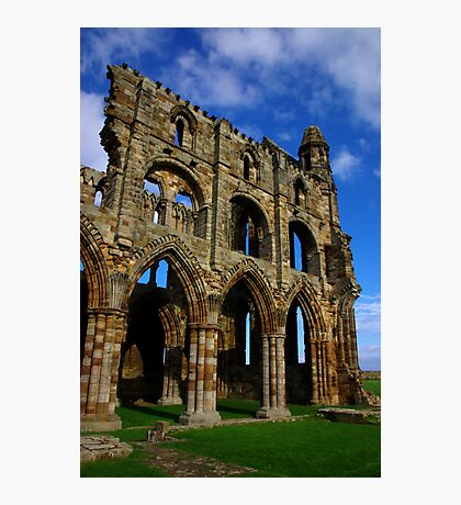 Whitby Abbey #6 Photographic Print