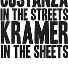 SEINFELD COSTANZA In the Streets KRAMER In the Sheets Cosmo Kramer George Costanza by thischarmingfan
