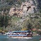 Quintessentially Dalyan: River Boats and Rock Tombs by taiche