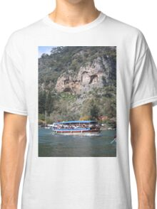 Quintessentially Dalyan: River Boats and Rock Tombs Classic T-Shirt