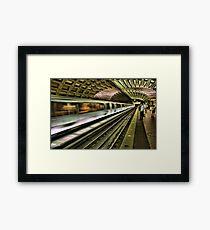 Metro Motion Framed Print