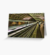 Metro Motion Greeting Card