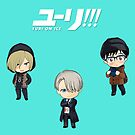 Yuri On Ice Stickers by aartmoore