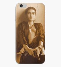 frida kahlo guns iPhone Case