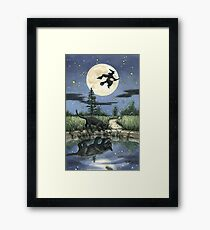 Everyday Witch Tarot - The Moon Framed Print