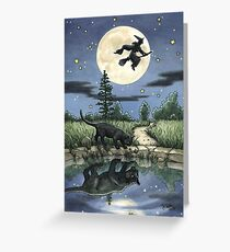 Everyday Witch Tarot - The Moon Greeting Card
