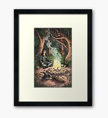 Everyday Witch Tarot - The Hermit Framed Print