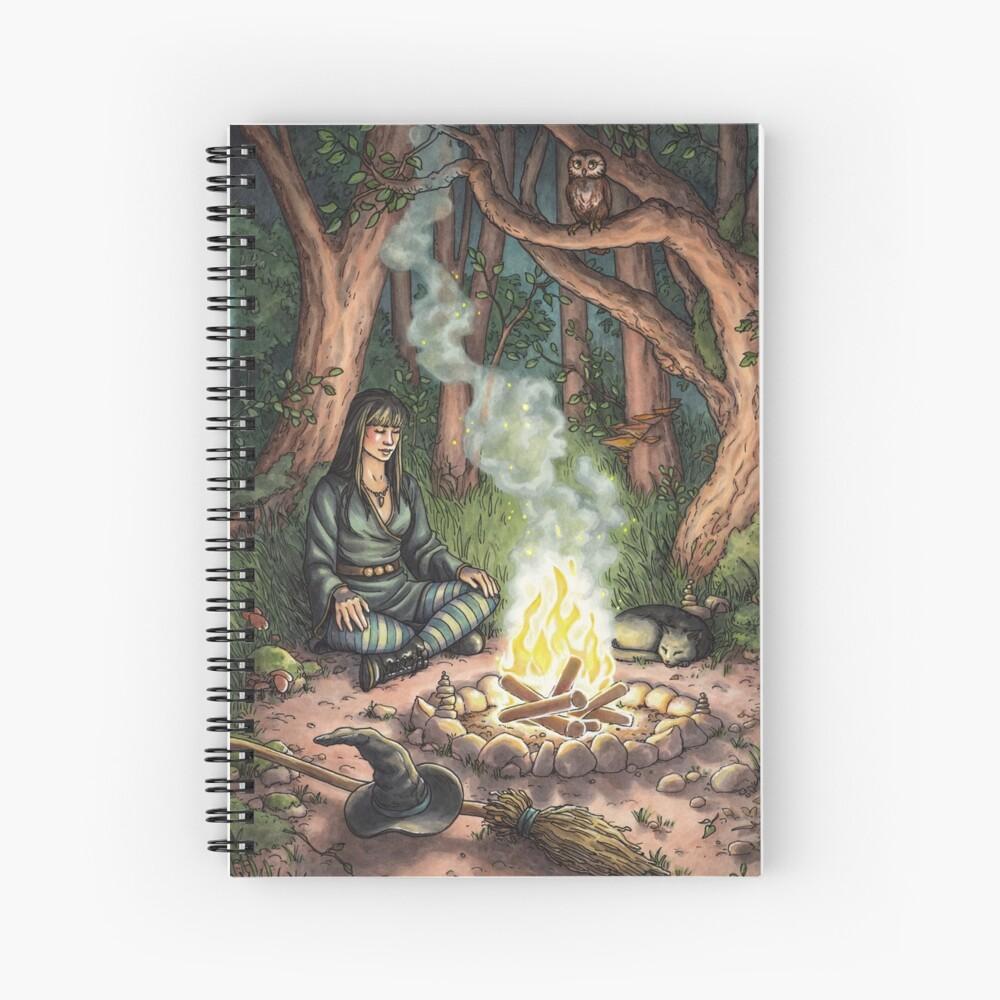 Everyday Witch Tarot - The Hermit Spiral Notebook