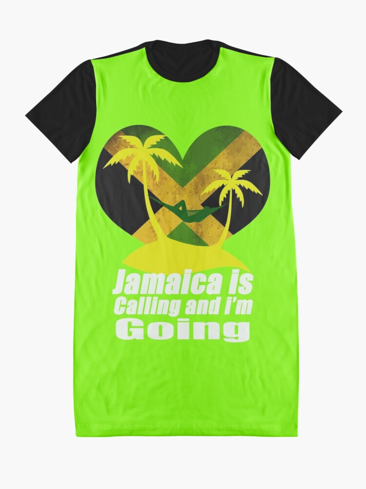 Alternate view of Jamaica  Graphic T-Shirt Dress
